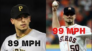 Zapętlaj MLB Pitchers Who Gained Velocity | Made The Cut
