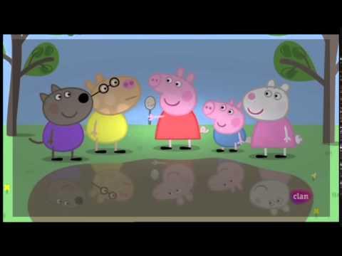 Peppa pig en espa ol episodio 4x40 espejos youtube for En youtube peppa pig