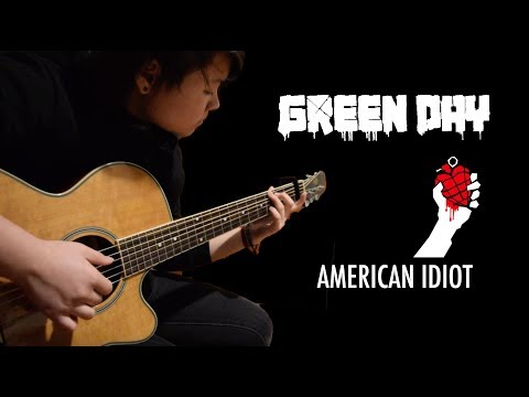 American Idiot - Green Day (Fingerstyle Cover) [+FREE TABS]