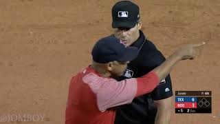 Andrew Benintendi and Alex Cora get ejected, a breakdown