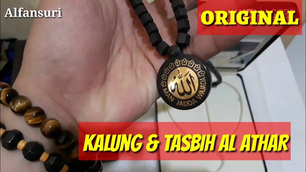 Unboxing Al Athar Kalung Tasbih Dan Gelang Kesehatan Alathar Gimsamyong Magnetic