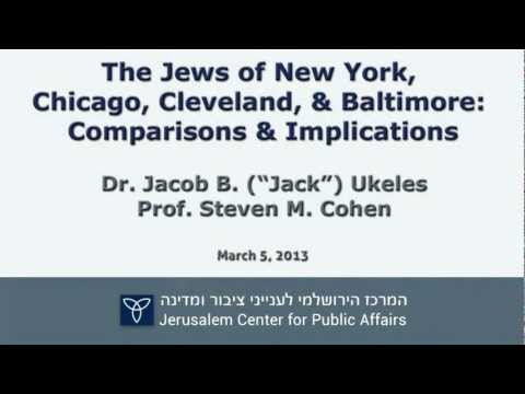 Four Major American Jewish Communities: Comparisons & Implic