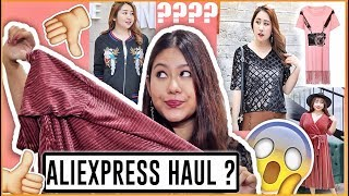 Aliexpress PLUS SIZE Outfits Haul- FIRST TIME EVER   Aliexpress India: Shopping & Review
