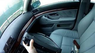 Démontage compteur BMW e39