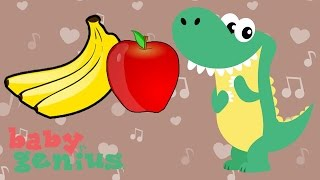 Apples and Bananas | Nursery Rhyme Cartoons for Kids | Baby Genius
