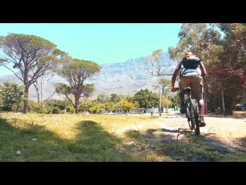 Summertime Cycling In Cape Town - v003