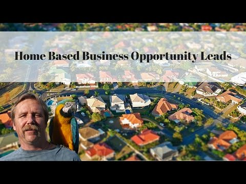 Home Based Business Opportunity Leads