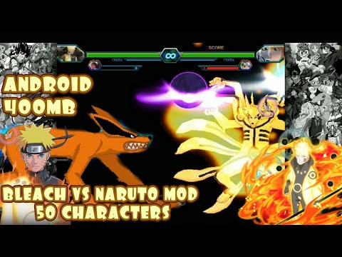 Bleach VS Naruto 3.3 Modded 50 Characters ANDROID {400MB DOWNLOAD}