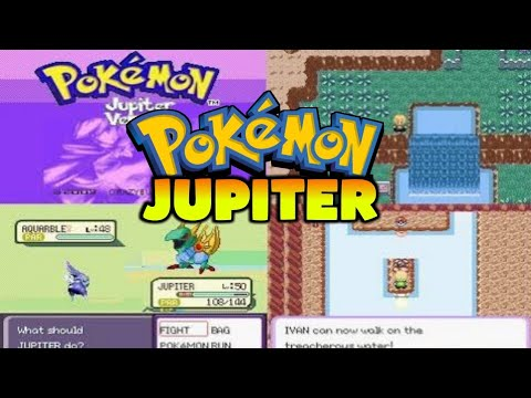 pokemon jupiter hack gba