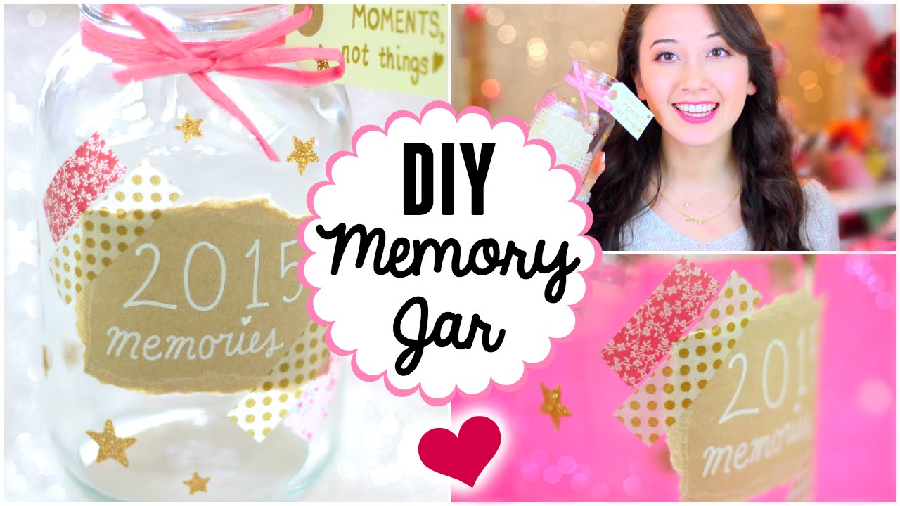 DIY Memory Jar Tumblr Amp Pinterest Inspired YouTube