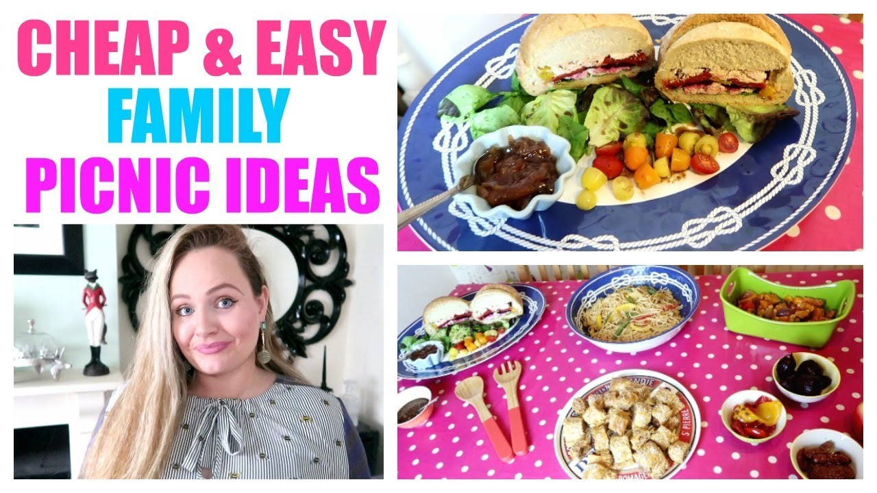 Picnic Food Ideas Cheap Easy Picnic Recipes Budget Family