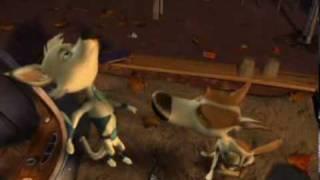 Biała i Strzała podbijają kosmos 3D / Belka i Strelka. Zvezdnye sobaki (2010) trailer*