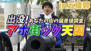 【天地明察】五稜郭でアホ街ック天国!!【wakatte.TV】#331