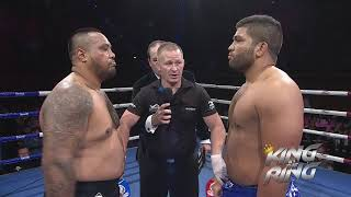 MMA 100+kg : Tafa Misipati vs Henri Burns