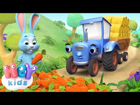Синій Трактор - Дитячі Пісні Українською Мовою | HeyKids - Дитячі пісні