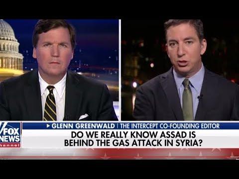 Glenn Greenwald & Tucker Carlson Slam Neocon Warhawks