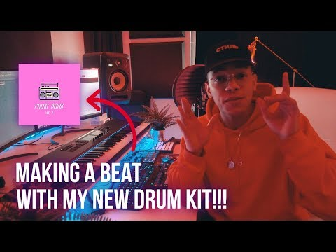 MAKING A FIRE BEAT FROM SCRATCH WITH MY NEW DRUM KIT!!! (Chuki Beats Vol. 2 Drum Kit)