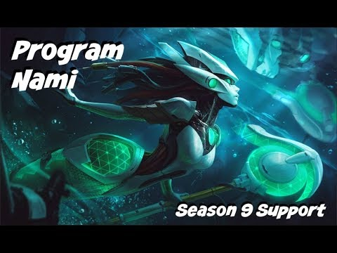 League of Legends: Program Nami Support Gameplay