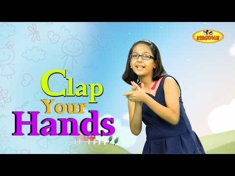 Clap Your Hands, Action Song For Children, Kids Action Songs  KidsOne