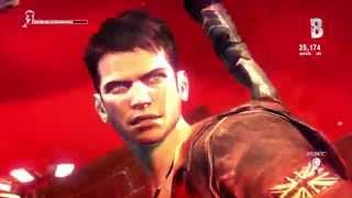 ramen_brownie Plays: DMC PS4 - Part 1 - Nobody pay attention to this girl that