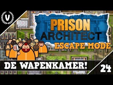 """""""DE WAPENKAMER!"""" - Prison Architect: ESCAPE MODE - Aflevering 24"""