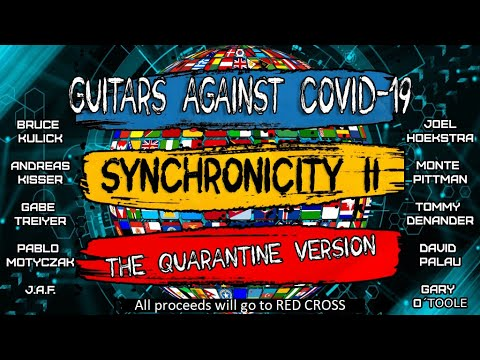 Guitars Against COVID-19: Synchronicity II - The Quarantine Version            (The Police Cover)