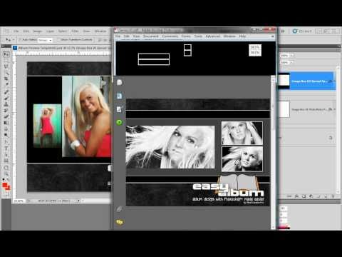 creating a pdf presentation template with photoshop - youtube, Powerpoint templates