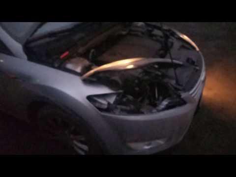 Форд Мондео 4, замена ламп в птф.