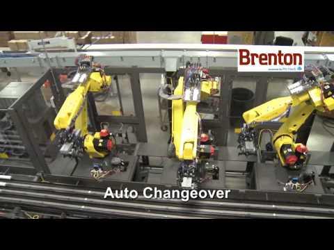 Robotic Wrap-Around Case Packing System - Brenton Engineering