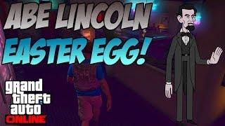 GTA 5 - Abe Lincoln Easter Egg! (Secret Massive $5 Bill)