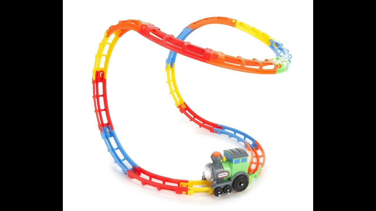 Review: Little Tikes Tumble Train - YouTube