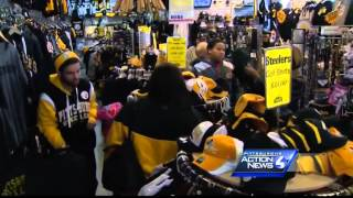 Fans excited about another Steelers-Ravens playoff matchup
