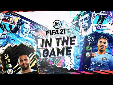 GABRIEL JESUS NEW ROAD TO FINAL ITEM! | MAN CITY | IN THE GAME