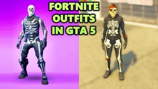 Fortnite Outfits In GTA 5 Online