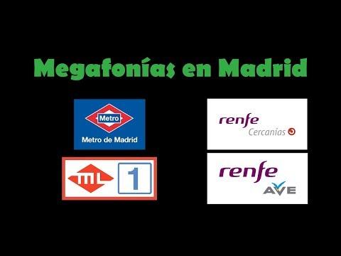 Megafonías En Madrid (Metro, Cercanías Y AVE)