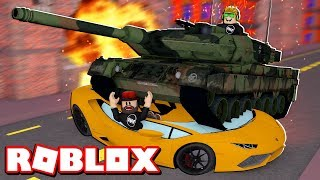 CRUSHING BRAND NEW LAMBORGHINI in ROBLOX CAR CRUSHERS 2