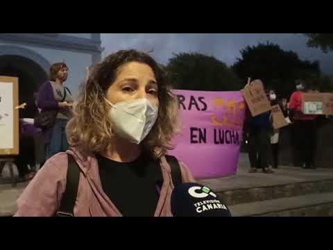 Señoras Feministas de Fuerteventura en el #25N