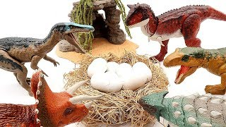 Who's Dinosaurs Eggs? Jurassic World2 Fallen Kingdom Dinosaur Eggs Toy For Kids  T-Rex Mini Dino Set