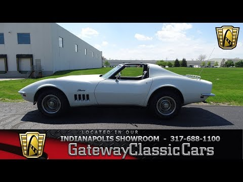 1969 Chevy Corvette Stock Number 1015-NDY
