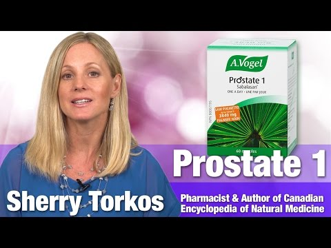 A. Vogel Prostate 1 with Author & Pharmacist Sherry Torkos