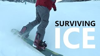 Tips for Surviving Icy Runs Snowboarding