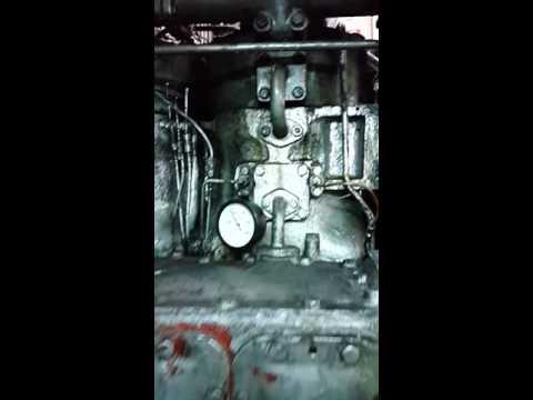 MS Bergama Main Engines 2x Sulzer 4TS 29