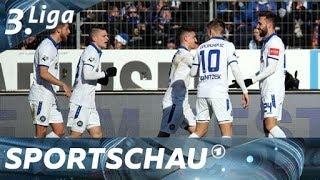 3. Liga: Karlsruhe wird Favoritenrolle gerecht und schlägt Chemnitz | Sportschau