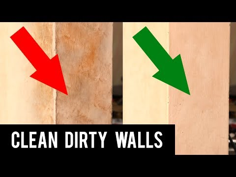 How to Clean Dirty Walls Easily | Remove Stain on Wall | Cleaning Hacks
