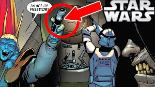 How Palpatine Destroyed Yoda's Lightsaber in Revenge of the Sith (canon) - Star Wars Explained