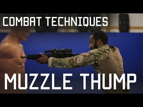 How to Muzzle Punch or Muzzle Thump | Close Combat Techniques | Tactical Rifleman