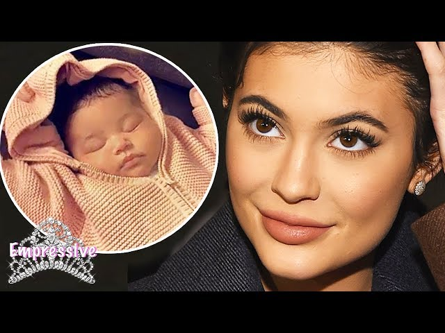 """Kylie Jenner is happy that her baby has """"black"""" lips 
