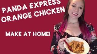 Panda Express Orange Chicken (Copycat Recipe)