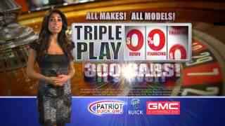 Triple Play at Patriot Buick GMC!