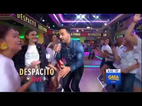 Luis Fonsi GMA | Luis Fonsi sings Despacito on GMA INTERVIEW Good Morning America 8-16-2017
